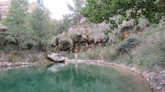 El aguallueve de Anento, en Aragón River, Outdoor, Trekking, Bonito, Travel, Outdoors, Outdoor Games, Outdoor Living, Rivers