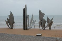 Normandy Beach Memorial