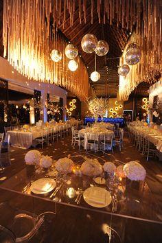 Wedding Reception at GABi Club at Paradisus Playa del Carmen Resort.