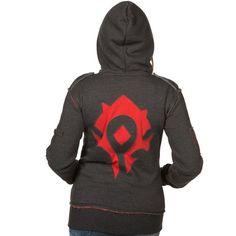 J!NX : World of Warcraft Champion of the Horde Women's Zip-up Hoodie