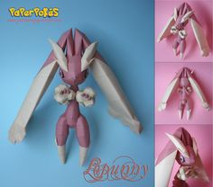 428 / LOPUNNY - Pokémon Papercraft  Name:  Lopunny  Type:  Normal  Species:  Rabbit Pokémon  Height:  1.2 m (3′11″)  Weight:  33.3 kg (73.4...