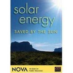 NOVA: Solar Energy - Saved by the Sun (DVD: 2007)