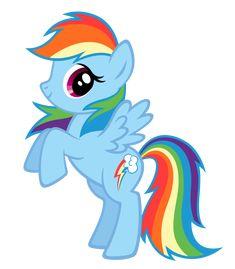 Rainbow Dash BB FiM colors vexel by Durpy
