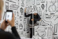 One of Designday's biggest hits was an installation by three unlikely collaborators. Microsoft Surface, Artisan, Flooring, Day, Design, Craftsman, Wood Flooring, Floor