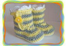 ♥ Baby Schuhe ♥  von Sternen - Welt auf DaWanda.com