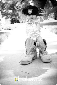 Every little girl wants to grow up to marry a soldier.  Anyone who says otherwise is lying.  One day, I'll find my soldier.