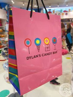 Image of shopping bag at Dylan's Candy Bar in NYC, New York