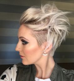 Quick messy short hairstyle - YouTube