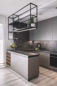 Luxury Kitchen Design, Kitchen Room Design, Home Room Design, Kitchen Sets, Home Decor Kitchen, Interior Design Kitchen, Home Kitchens, House Design, Classic Kitchen