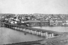 [View of Victoria from across James Bay] - City of Vancouver Archives