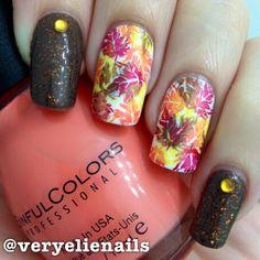 Autumn nails #fall #nails