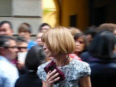 Anna Wintour at the Milan Fashion Week - September 2012 - http://olschis-world.de/  #AnnaWintour #Streetstyle #fashion
