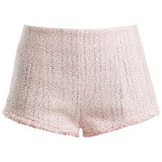 Alessandra Rich High-rise tweed shorts (€490) ❤ liked on Polyvore featuring shorts, tweed shorts, high-waisted shorts, highwaist shorts, high rise shorts and high-rise shorts