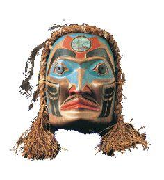 Masque de cérémonie Iroquois