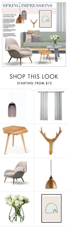 """""""Spring Impressions"""" by szaboesz ❤ liked on Polyvore featuring interior, interiors, interior design, home, home decor, interior decorating, mater, Gus* Modern, Ballard Designs and LSA International"""