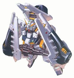 RX-121 Gundam TR-1 [Hazel] is a Mobile Suit from the Gundam Universal Century time-line. It was featured in the photo-novel and manga Advance of Zeta: The Flag of Titans.