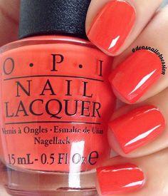 26 Best Opi red nail polish images | Nail Polish, Opi red nail ...