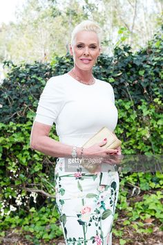 Actress/model Brigitte Nielsen attends the German Oscar nominees reception at…