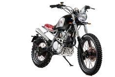 Honda XL600 LM by Matteucci Garage, Montegranaro - Italy