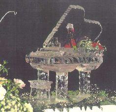 Grand Piano Ice Sculpture