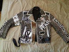 studded punk jacket