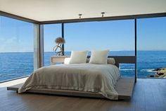 #Parquet en #Dormitorios www.decorgreen.es Rockledge Residence by Aria Design