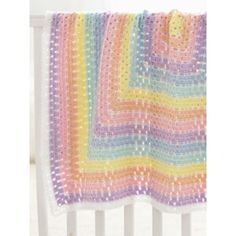 Baby Blanket Squared - beginner (free pdf instructions)
