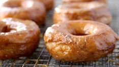 Blogger Brooke McLay from Cheeky Kitchen shares a favorite recipe for Grands!® Pumpkin Doughnuts. Pillsbury® biscuits are fried into perfectly plump doughnuts, and then dipped into a splendid pumpkin-spiced glaze.
