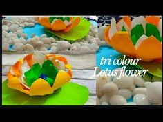 Hello everyone, In this video we will make a Lotus flower with the crepe paper. Paper Glue, Crepe Paper, How To Make Paper, Craft Work, Creative Crafts, Lotus Flower, Hello Everyone, Projects To Try, Colour