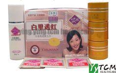 whitening cream for face Chinese medicine Chun Yan (3+1)  Beauty Crystal Mask 100% original $25.00