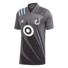 MLS Minnesota United FC Men's Gray Jersey - L, Boy's, Size: Large