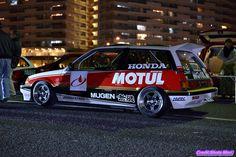 "radracerblog: "" 87′ Honda Mugen Motul Civic Si """