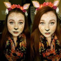 Throw back to last year's Halloween makeup! #tbt #wakeupandmakeup #instabeauty #instaglam #instamakeup #instamood #makeup #beauty #makeuplove #makeuplover #makeupartist #makeupaddict #halloween #cosmetics #makeupaddiction #makeupartistintraining #fawn