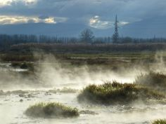 Rupite Hot Springs, Bulgaria.