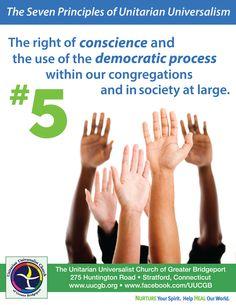 Fifth principle of Unitarian Universalism