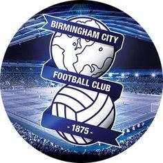 "7.5"" inch Birmingham City FC Logo Edible Cake Toppers"