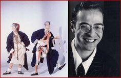 John Galliano's Graduation Collection (1984 photo Johnny Rozsa). John Galliano (1986 photo Jill Furmanovsky).