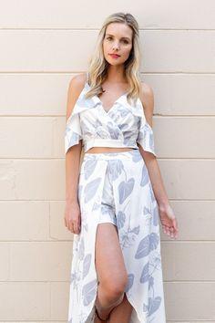 Aloha Maxi Shorts - {a} haley boutique