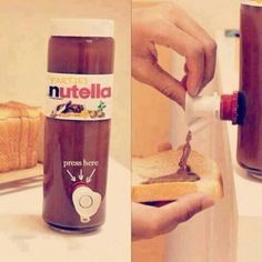 I just want this, NUTELLA!!