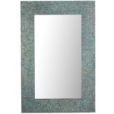 This would be beautiful on the wall in the spa and would add just the right amount of color. Azure Mosaic Mirror - 32x48