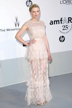 Kirsten Dunst In Chanel At The Cannes Film Festival 2011