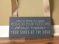 Remove shoes Since little finger touch our by GAGirlDesigns