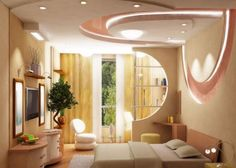 46 Dazzling & Catchy Ceiling Design Ideas 2015
