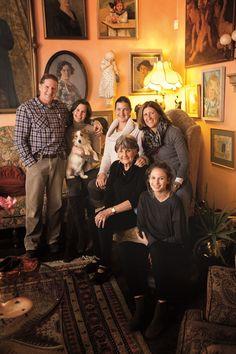 Annatjie Melck and her family https://www.facebook.com/muratiewine/ www.muratie.co.za