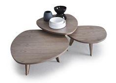 I tavolini Vibieffe, progetti di designer italiani: tipologie, immagini e caratteristiche