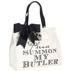 My Flat In London Sir James Square Tote - Polyvore