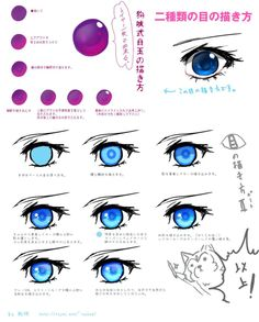 Tip for coloring eye