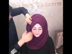 Abiye şal bağlama modeli - YouTube