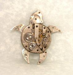 Clockwork Steampunk Turtle