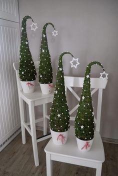 cute Christmas trees idea